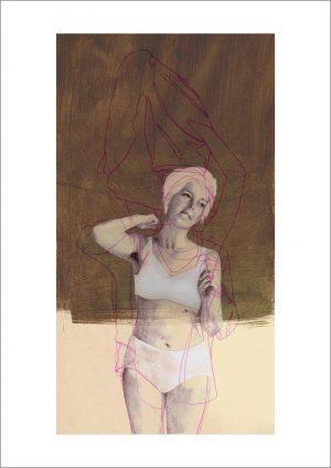 """Birgit Lang, Fine Art Print """"mother2"""", DIN A3, Bildgröße 19,5 x 36 cm"""